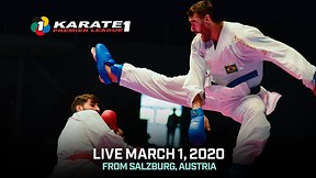 Karate 1 Premiere League  Live : Salzburg
