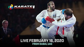 Karate 1 Premiere League Live: Dubai