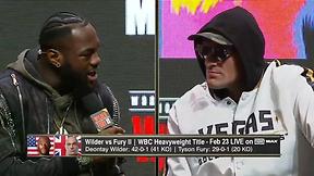 Wilder vs. Fury Press Conference