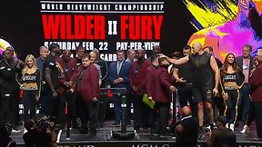 Wilder vs. Fury 2 Weigh In
