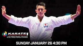 Karate 1 Premiere League Live: Paris, France