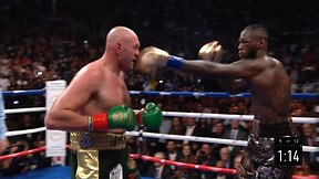 Deontay Wilder defends title against Tyson Fury