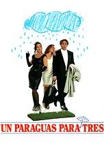Un paraguas para tres